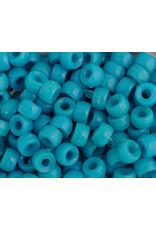 Mini Crow Beads 6mm Opaque Blue x500