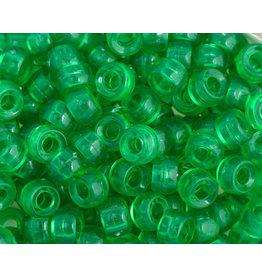 Mini Crow Beads 6mm Transparent Green x250