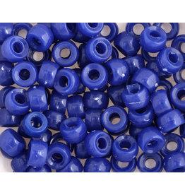 Mini Crow Beads 6mm Opaque Royal Blue x250