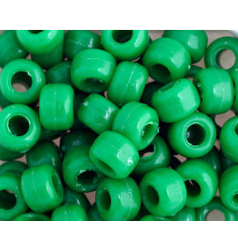 Crow Beads 9mm Opaque Green x500