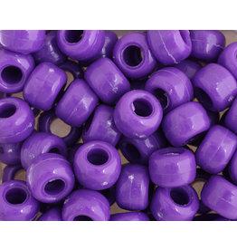 Crow Beads 9mm Opaque Purple x500