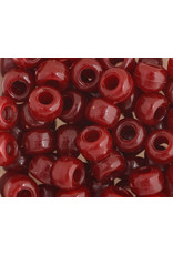 Crow Beads 9mm Opaque Burgundy Red x500
