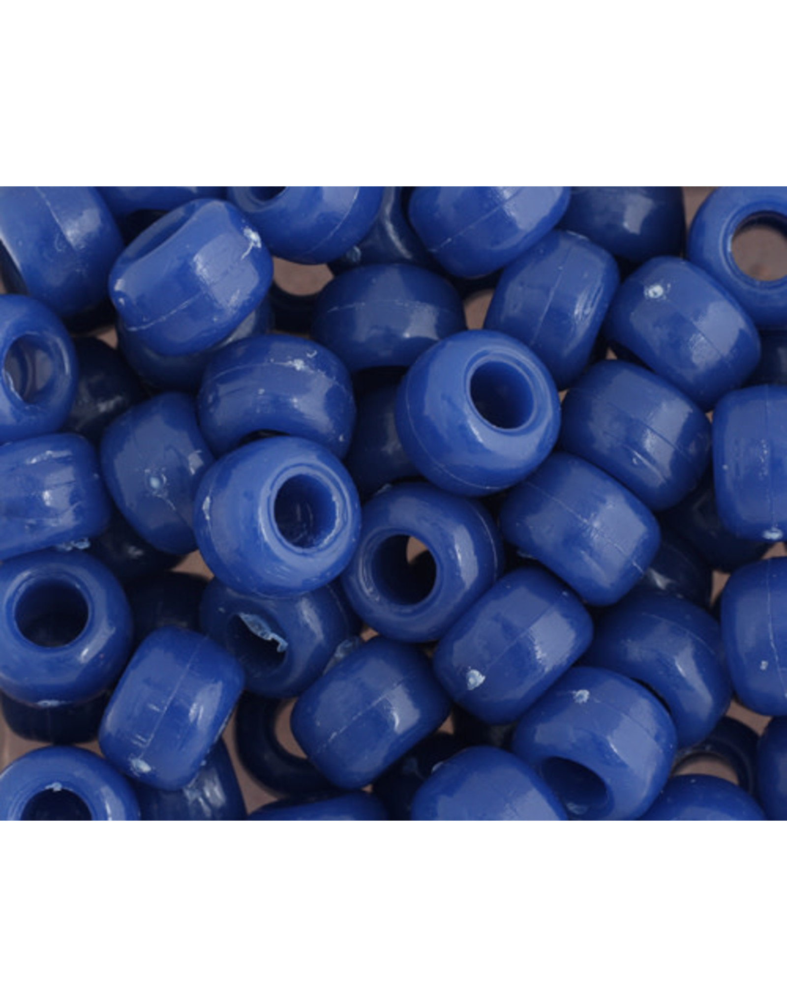 Crow Beads 9mm Opaque Blue x500