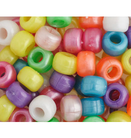 Crow Beads 9mm Opaque Pearl Mix x500