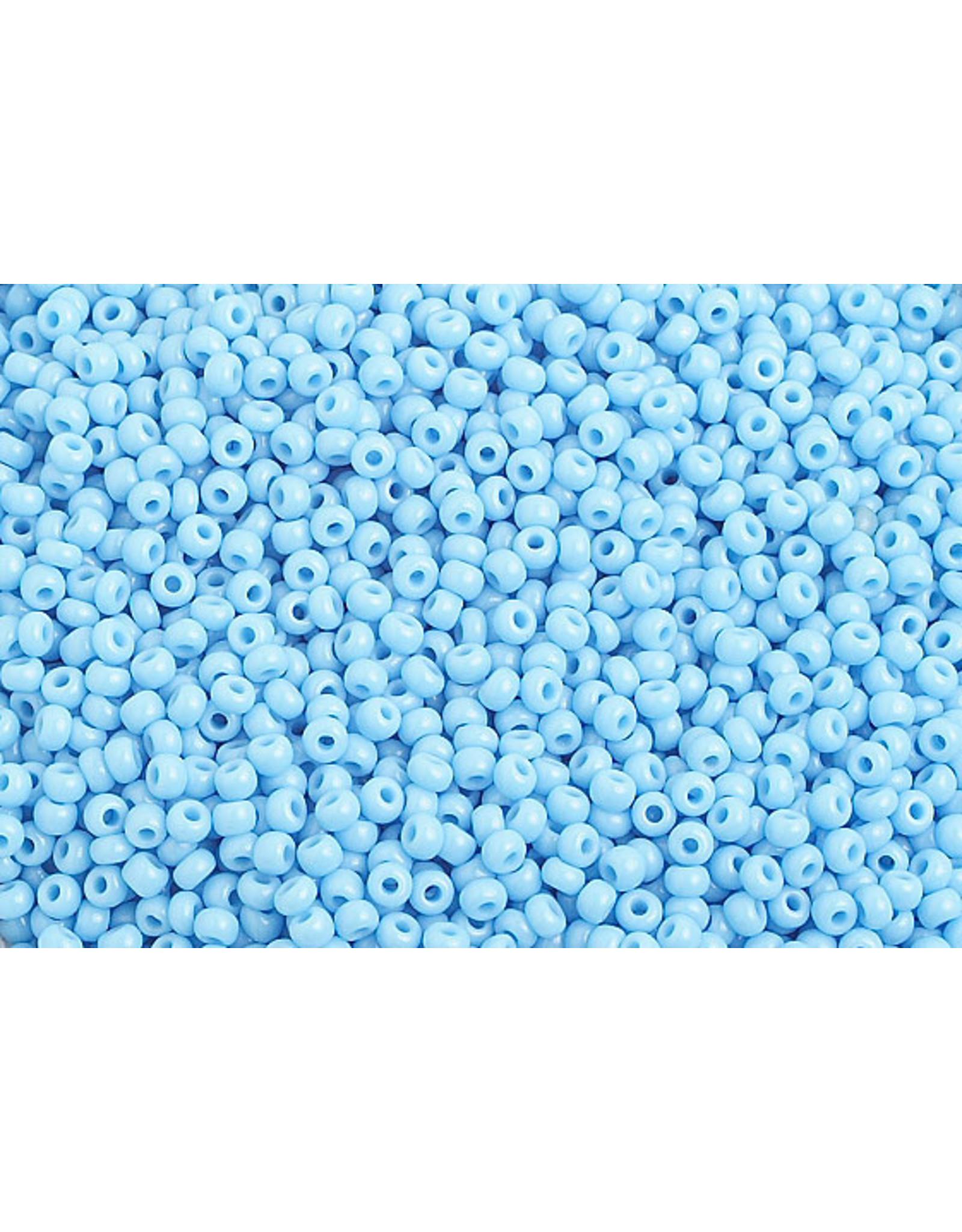 Czech 1010B 10 Czech Seed 250g Opaque Light Blue