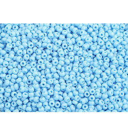 Czech 1010B 10 Czech Seed 250g Opaque Light Blue