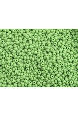 Czech 1014 10 Czech Seed 20g Opaque Light Green