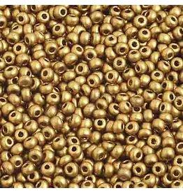 Czech 2212B 10 Czech Seed 250g Gold Metallic Matte