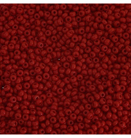 Czech 1028 10 Czech Seed 20g Opaque Medium Dark Red