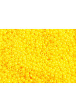 Czech 1034 10 Czech Seed 20g Opaque Gold Yellow