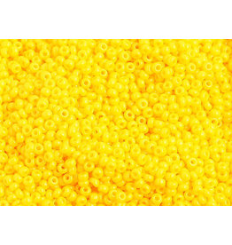 Czech 1034B 10 Czech Seed 250g Opaque Gold Yellow