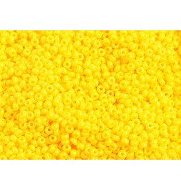 Czech 1034B 10   Seed 250g Opaque Gold Yellow