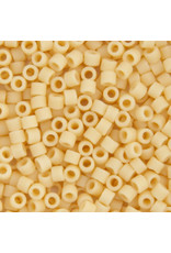 Miyuki db1581 11 Delica 3.5g Opaque Ivory Pear Matte