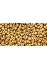 Toho pf557 11 Toho Round 6g Gold Metallic