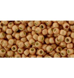 Toho pf551fB 11  Round 40g Rose Gold Metallic Matte
