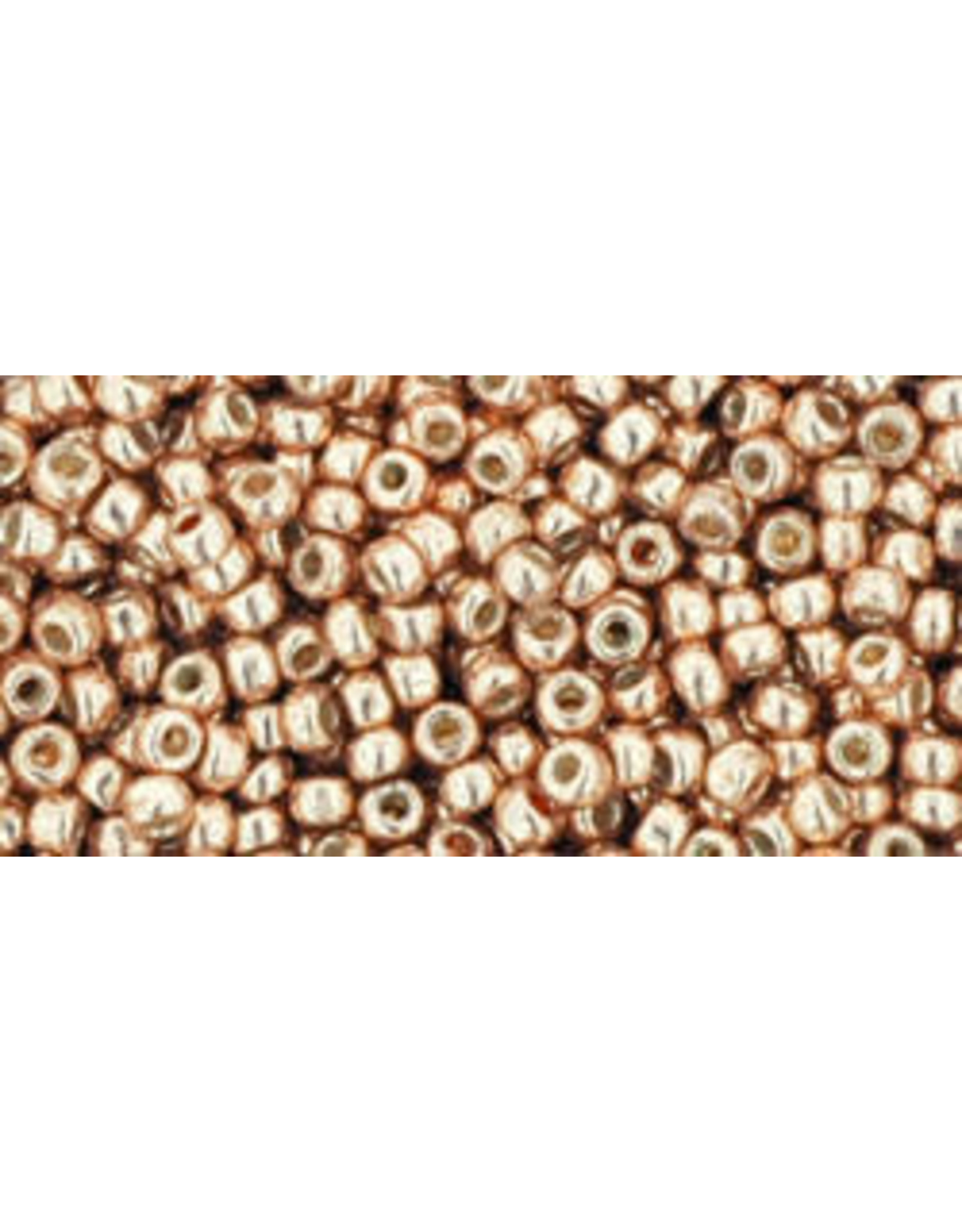 Toho pf551 11 Toho Round 6g Rose Gold Metallic