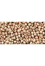 Toho pf551B 11 Toho Round 40g Rose Gold Metallic