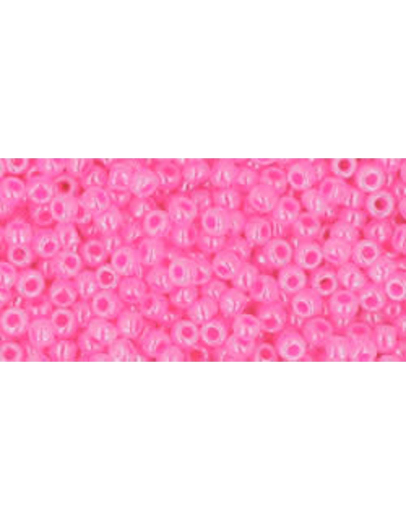 Toho 911B 11  Round 40g Ceylon Medium Pink