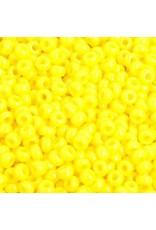 Czech 201581 8   Seed 20g Opaque Lemon Yellow