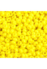Czech 401633 6   Seed 20g Opaque Lemon Yellow