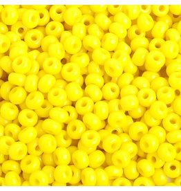 Czech 401633b 6   Seed 250g Opaque Lemon Yellow