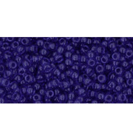 Toho 8B 11  Round 40g Transparent Cobalt Blue