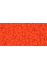 Toho 50f 11 Toho Round 6g Opaque Orange Matte