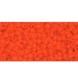 Toho 50f 11  Round 6g Opaque Orange Matte