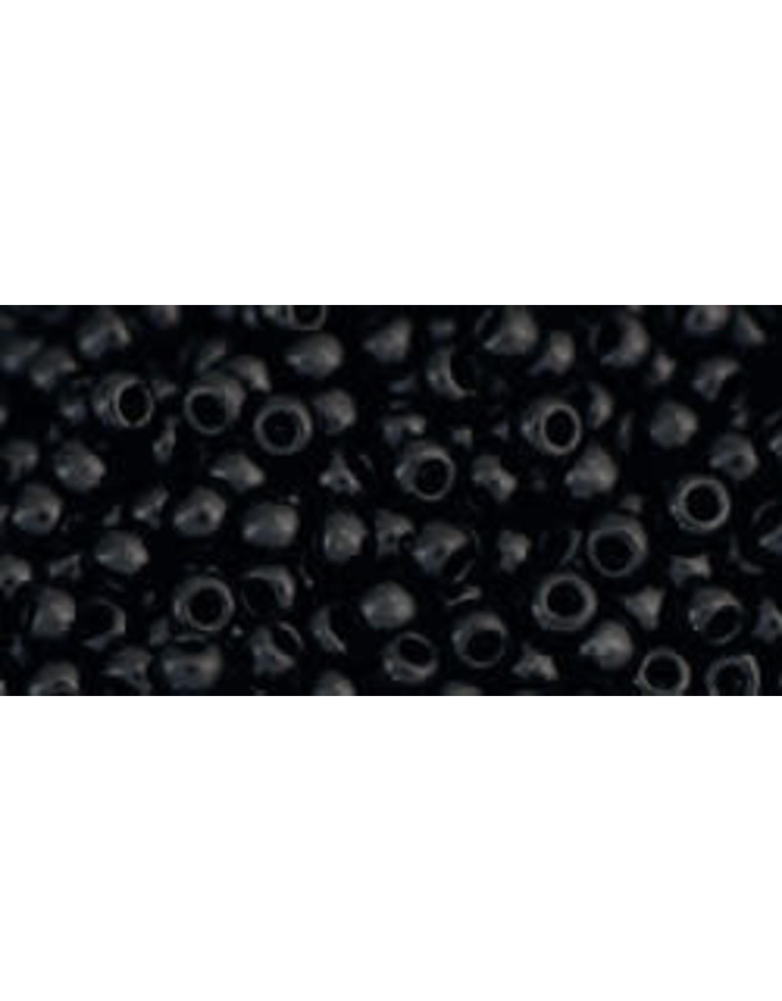 Toho 49 11  Round 6g Opaque Jet Black
