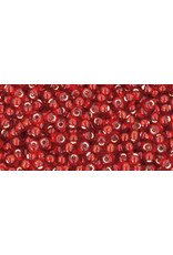 Toho 25c 11  Round 6g Ruby Red s/l
