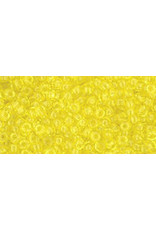 Toho 12 11  Round 6g Transparent Lemon Yellow