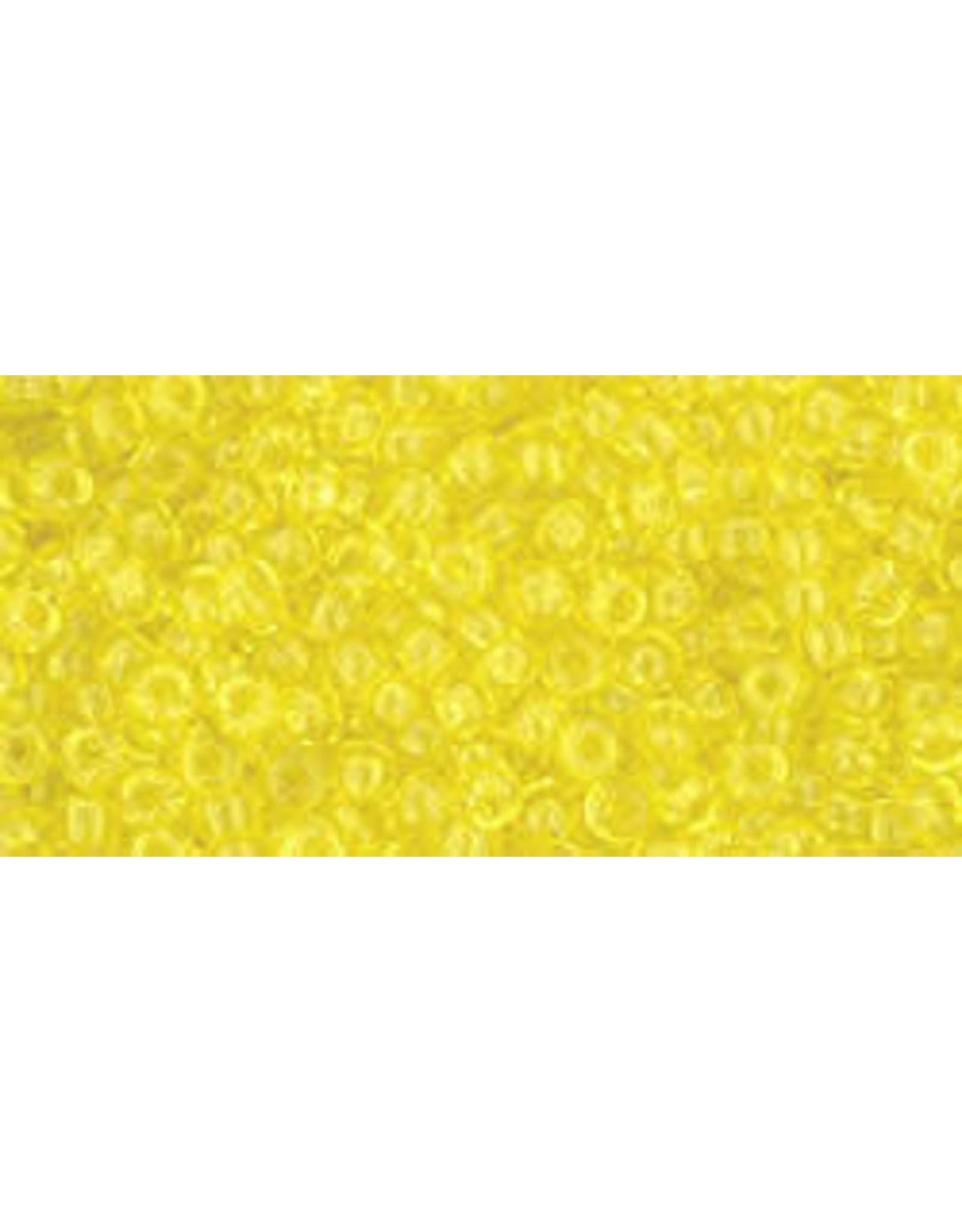 Toho 12 11 Toho Round 6g Transparent Lemon Yellow