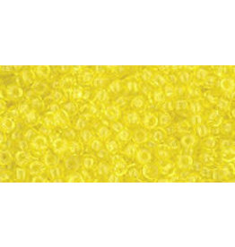 Toho 12 11  Round 6g Transparent Lemon Yellow