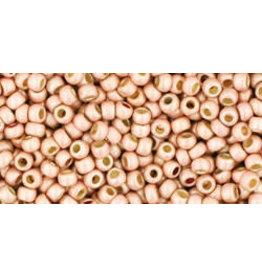 Toho pf552f 11 Toho Round 6g Blush Pink Metallic Matte