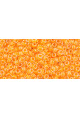 Toho 801 11  Round 6g Neon Tangerine Light Orange
