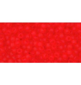 Toho 5f 11 Toho Round 6g Light Siam Ruby Red Matte