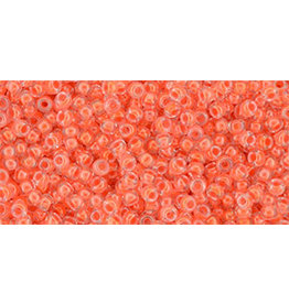 Toho 803B 11  Round 40g Neon Salmon Orange