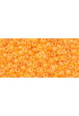 Toho 801B 11  Round 40g Neon Tangerine Light Orange