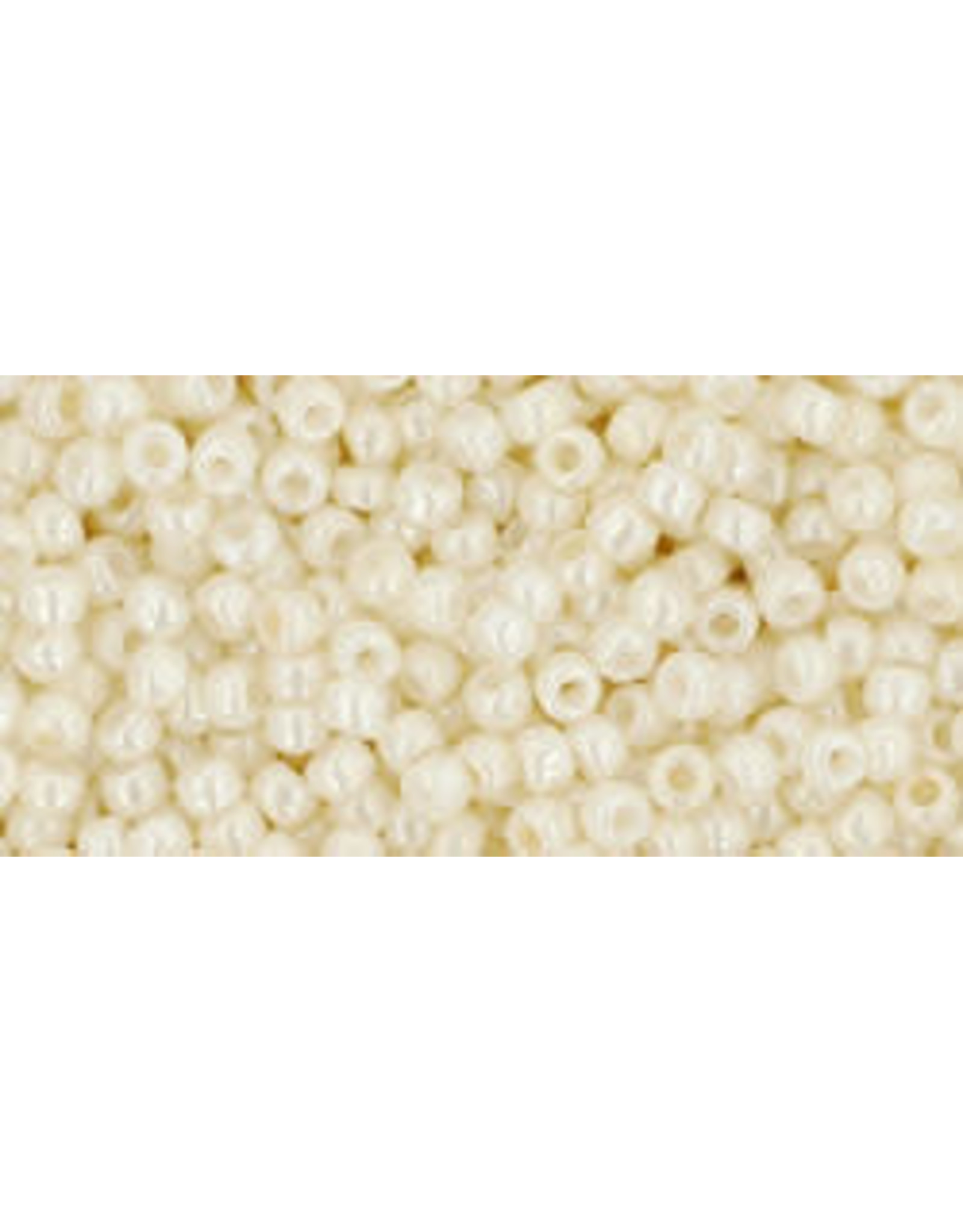 Toho 122 11  Round 6g Opaque Navajo White
