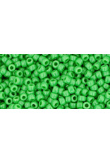 Toho 47B 11  Round 40g Opaque Mint Green