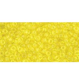 Toho 12B 11  Round 40g Transparent Lemon Yellow