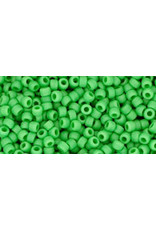 Toho 47fB 11  Round 40g Opaque Mint Green Matte