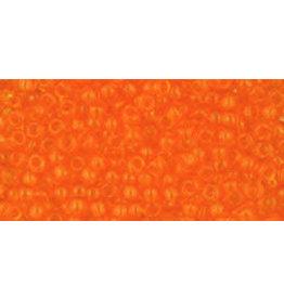 Toho 10 11 Toho Round 6g Transparent Lt Hyacinth Orange