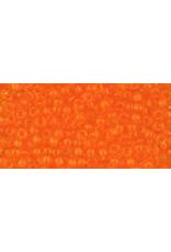 Toho 10B 11  Round 40g Transparent Hyacinth Orange