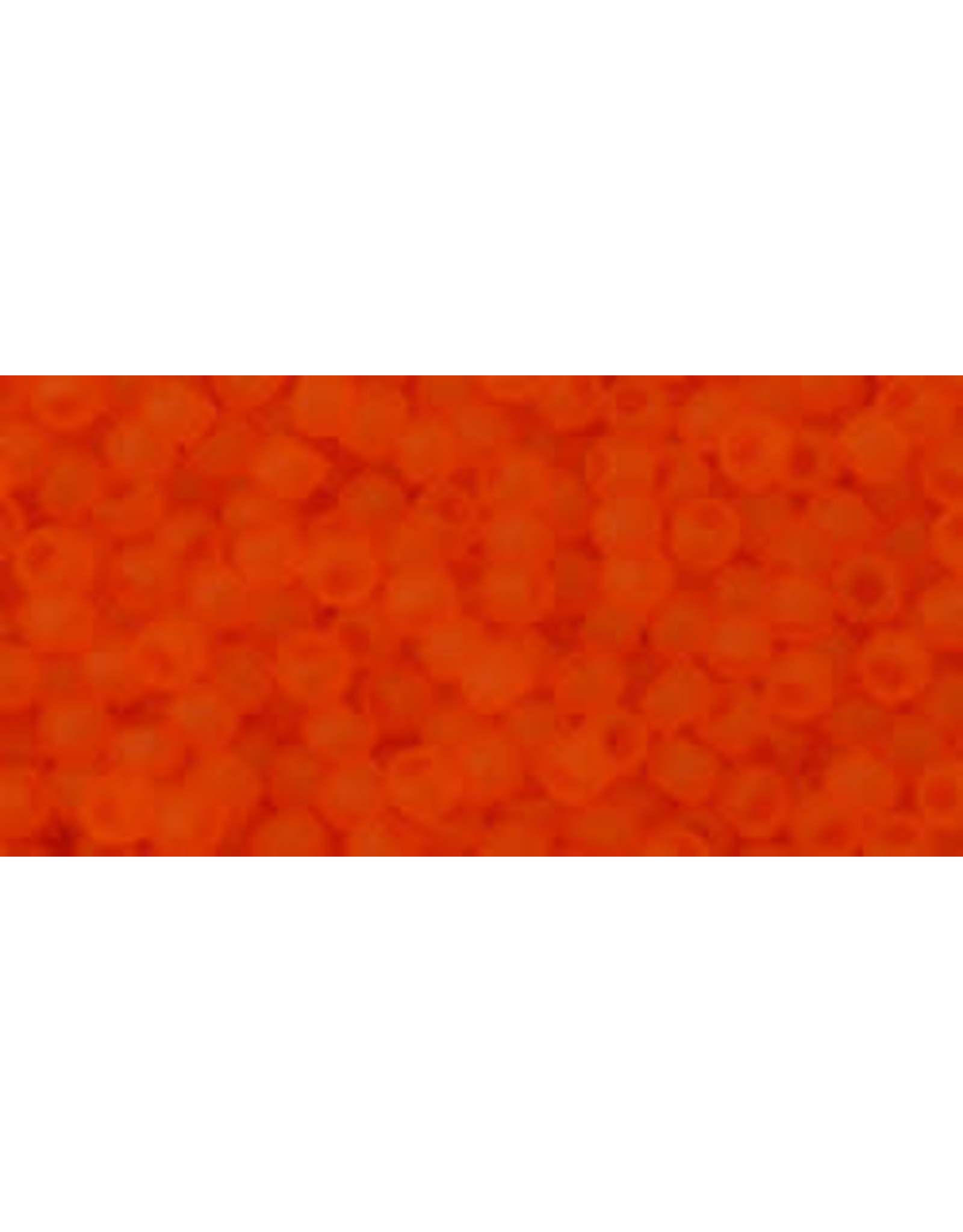 Toho 10bf 11  Round 6g Transparent Hyacinth Orange Matte