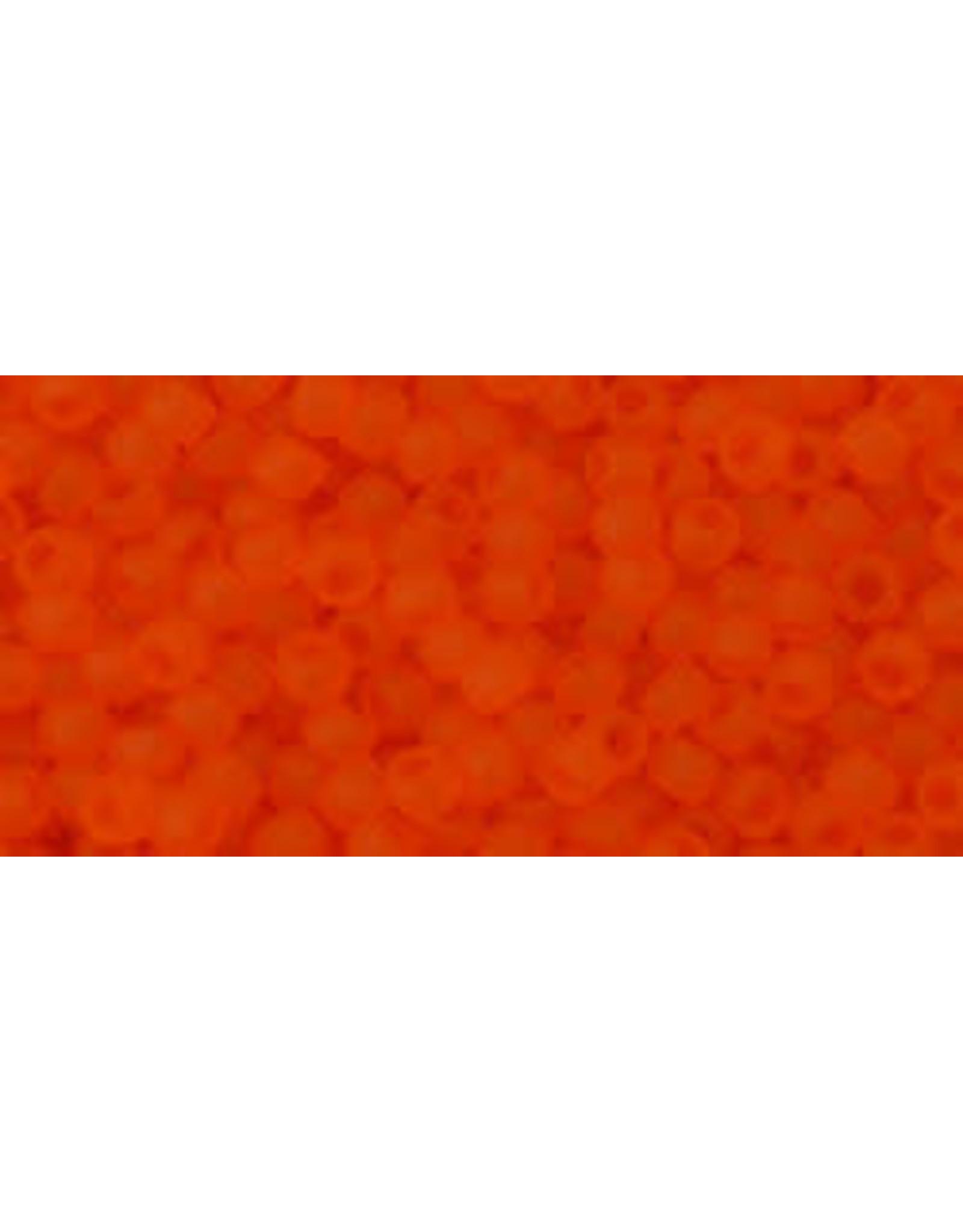 Toho 10bf 11 Toho Round 6g Transparent Hyacinth Orange Matte