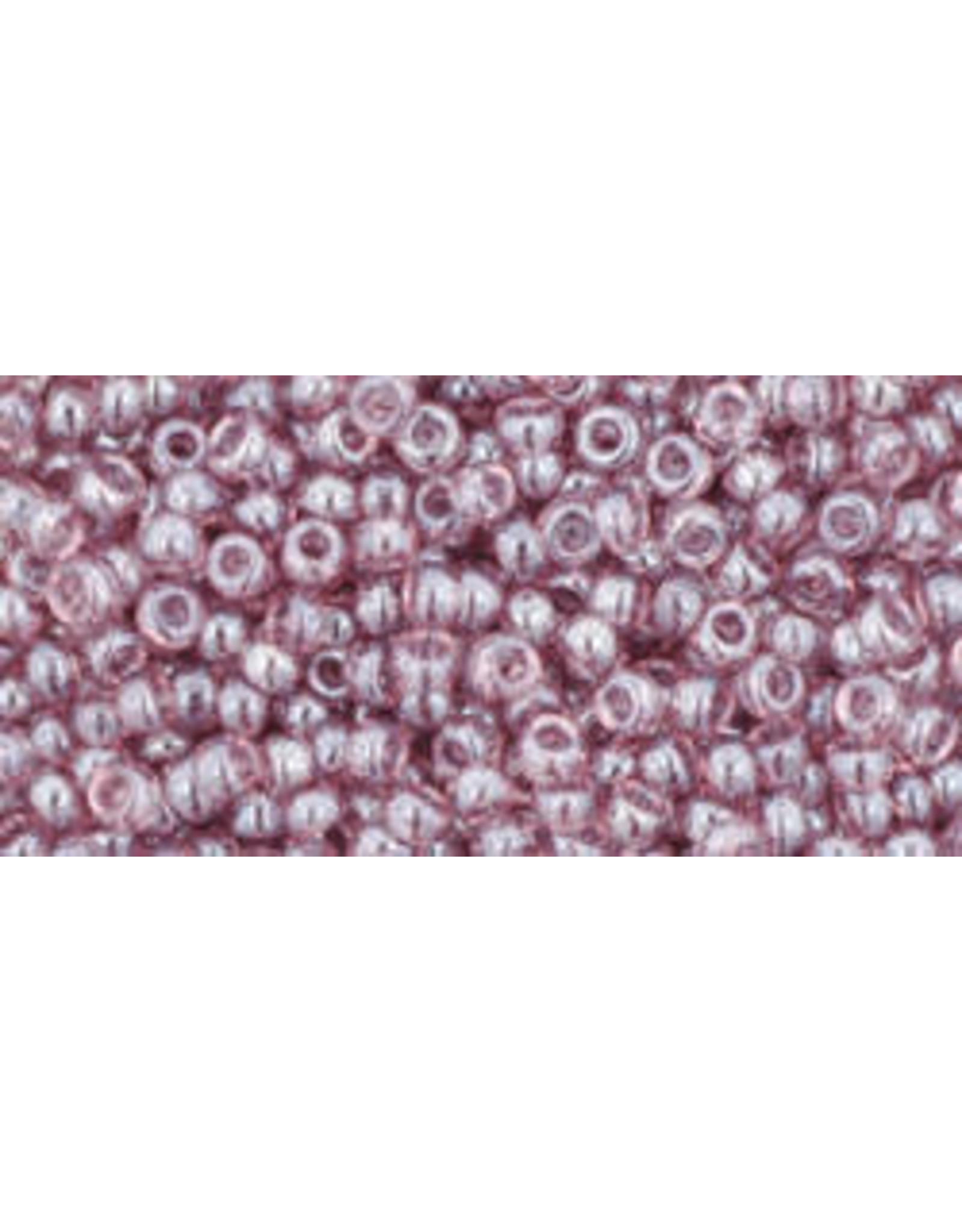 Toho 110 11  Round 6g Transparent  Light Amethyst Purple Lustre