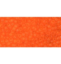 Toho 10bB 11  Round 40g Transparent  Hyacinth Orange