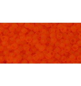 Toho 10bfB 11  Round 40g Transparent Hyacinth Orange Matte