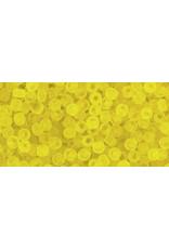Toho 12fB 11  Round 40g Transparent  Lemon Yellow Matte